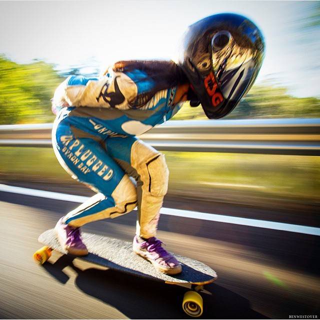 Repost from @shredepicgnar  LGC Australia Ambassador @magalyfbe taking a fast run. Ouuuuuu Maga!! ❤️ @bestevernow photo  #longboardgirlscrew #womensupportingwomen #skatelikeagirl #girlswhoshred #magamcwhinnie #australia #peru
