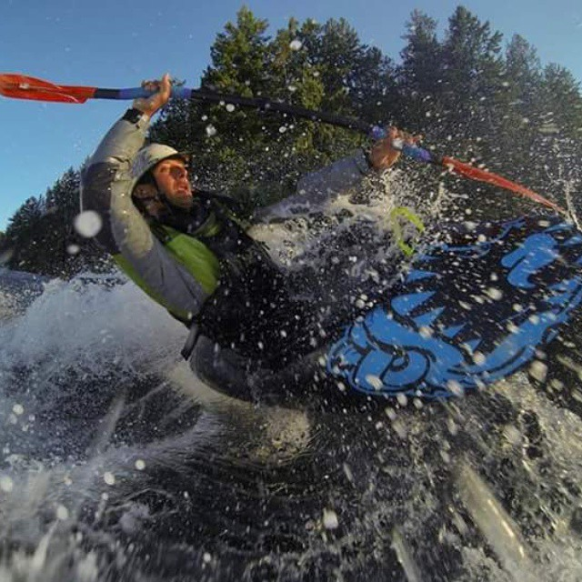 #tbt to yesterday?! Which was also team rider Dave Fusilli's birthday not to mention this past weekend where he secured a spot on the US freestyle kayaking team!  Congrats and best of luck! #teamusa