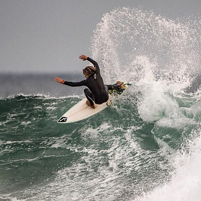 San Clemente's @davideconomos tagging a Lowers lip.