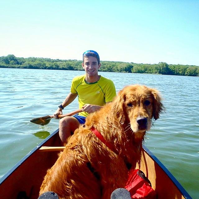 One last adventure with this guy on the lake before I head to South America for 7 months!
