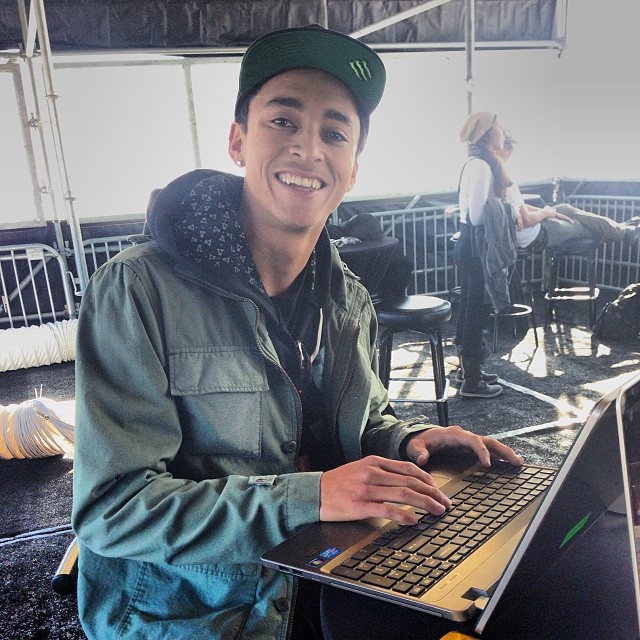 @Nyjah_Huston live right now on our Facebook page from Aspen. Head over and ask the man a question!