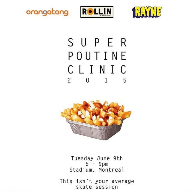 #SuperPoutineClinic2015 @patrickswitzer