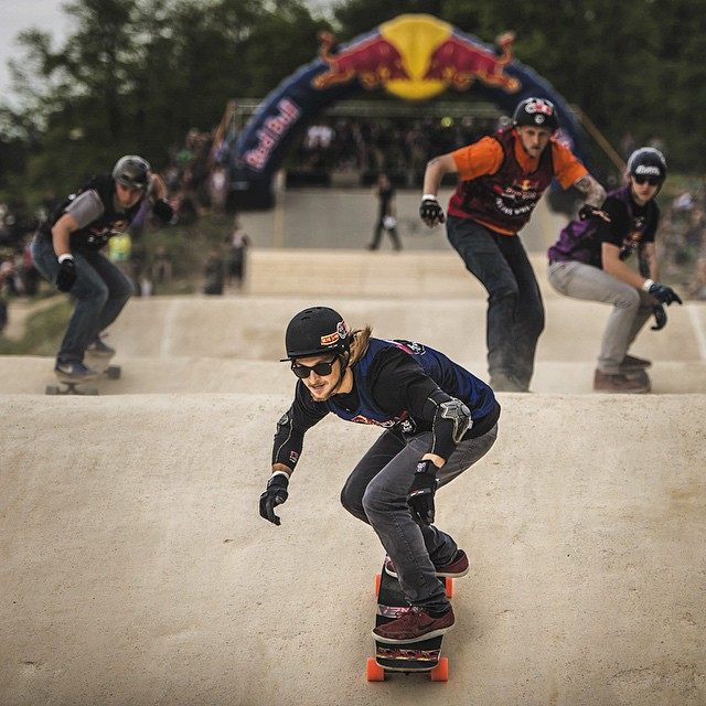 @nicolanuehrig takes 1st at #RedBullFeelTheWheel2015! Link to the video in our profile #OrangatangWheels