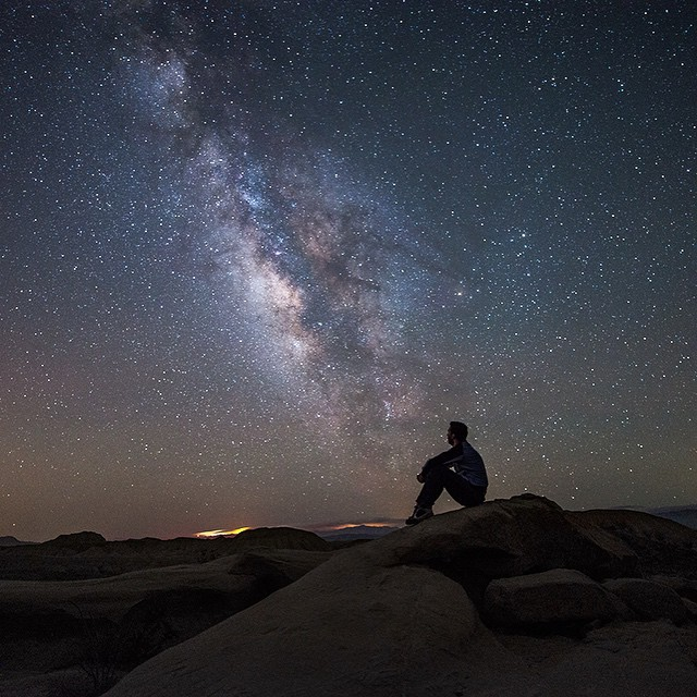 @jackfusco, checking in with another wild starscape. #getoutthere #adventureworthy