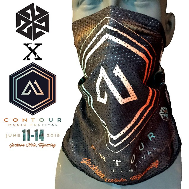 We are super excited about the new @contourfestival bandaril bandanas we put together for this weekend!  Grab one at the merch booth, the are super limited and will sell out! If you haven't gotten tix for the festival yet def pick some up and come rock...