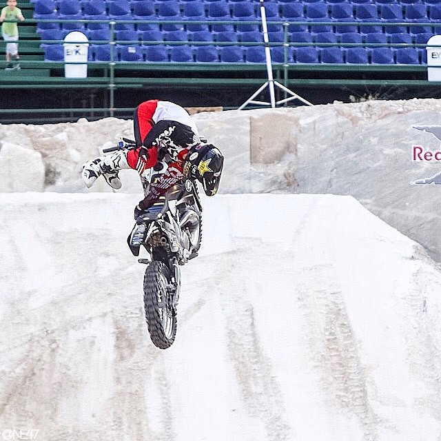 Stoked for our dude @RobAdelberg grabbing 3rd in tonight's @RedBullXFighters Qualifier
