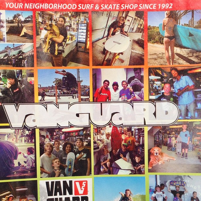 Shop at @vanguardsurfskate for some of the new #Odina this #summer! Featured in #dropzone mag