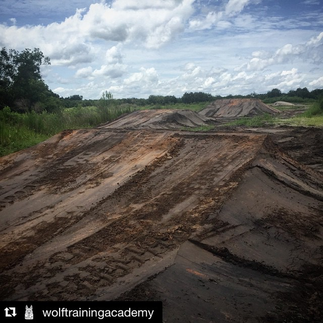 Stoked on building this place!  #Repost @wolftrainingacademy ・・・ Started on the new track today! Come and get your lorettas training in!#wolftrainingacademy #moto #dirt #rockies #gooddirt #cometrain