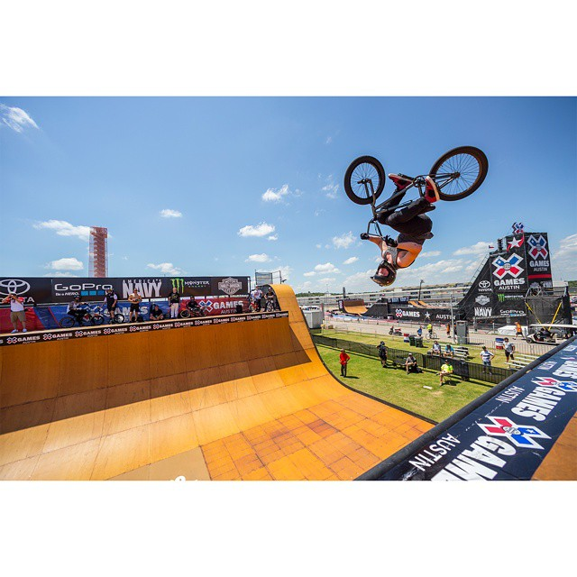 @vincebyron earned his first BMX Vert gold in Austin.  Our #XGames Recap Show will air Sunday at 2 pm ET on ABC! (