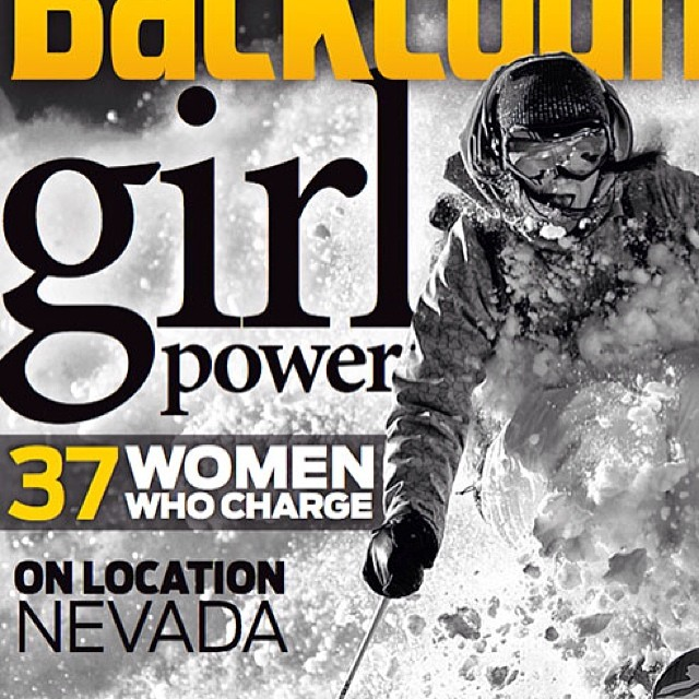 "Yeah! What an amazing issue of @backcountrymag. Favorite quote by @kimhavell: ""Shorter, softer women's gear doesn't help perception of our equal capability in the sport."" #nailedit #sisterswhoshred #skiing #moreplease"