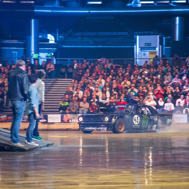 Just wrapped driving my first @ClarkHamMayLive show here in Johannesburg, South Africa. One down, five left to go this weekend… including another one tonight! Such a fun way give my Ford Mustang Hoonicorn RTR its first ever public appearance....