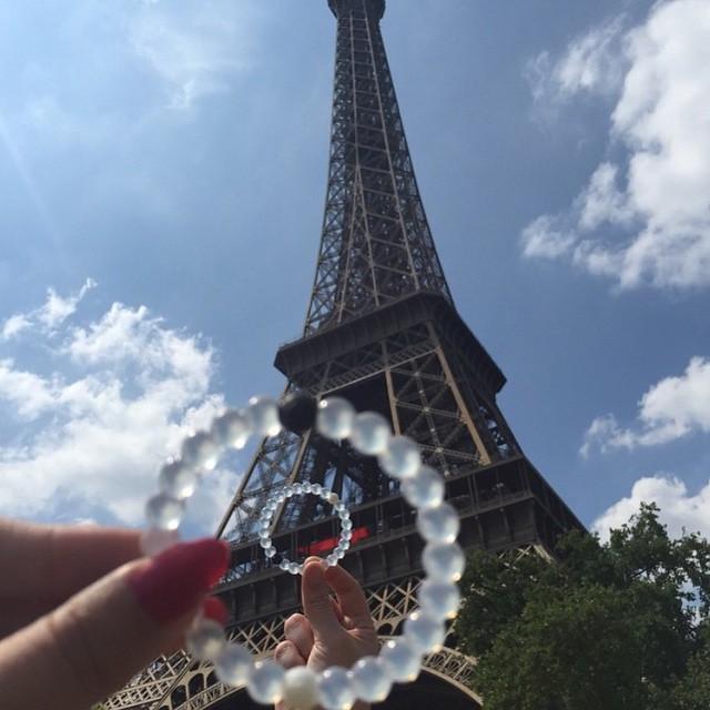 Show us where you're headed this summer! #livelokai #lokaiworld #Paris Thanks @carla_koala