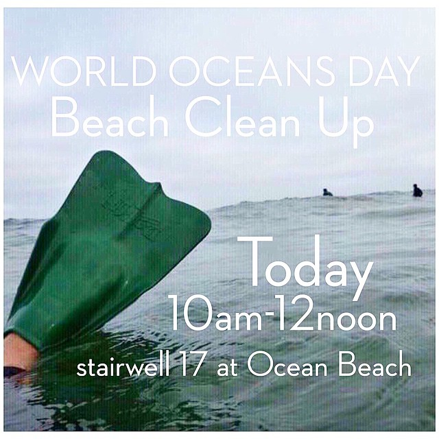 Join us today for an early celebration of WORLD OCEANS DAY 2015. This years theme HEALTHY OCEANS, HEALTHY PLANET is our effort to protect our ocean from plastic pollution.