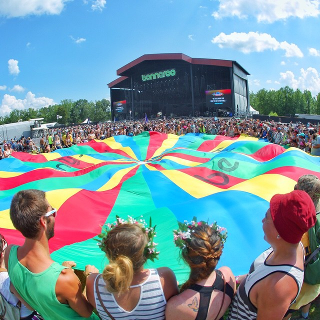 Whatcha guys doing under that Parachute? ;) We're LIVE from @Bonnaroo on Red Bull TV! Click the link in our profile to watch deadmau5, Earth Wind & Fire, Alabama Shakes, Run The Jewels, Tears for Fears, and more.