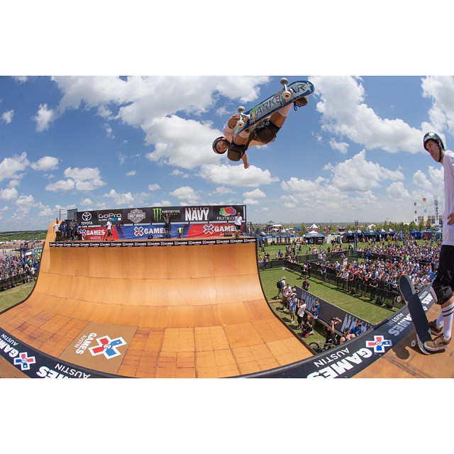 @PLG earned his seventh Skateboard Vert gold in Austin.  Our #XGames Recap Show will air Sunday at 2 pm ET on ABC! (
