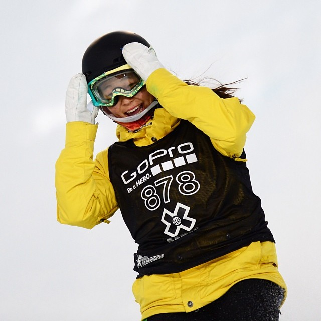 13-years-old and now the youngest Winter X Games medalist ever. The future is bright! @chloekimsnow