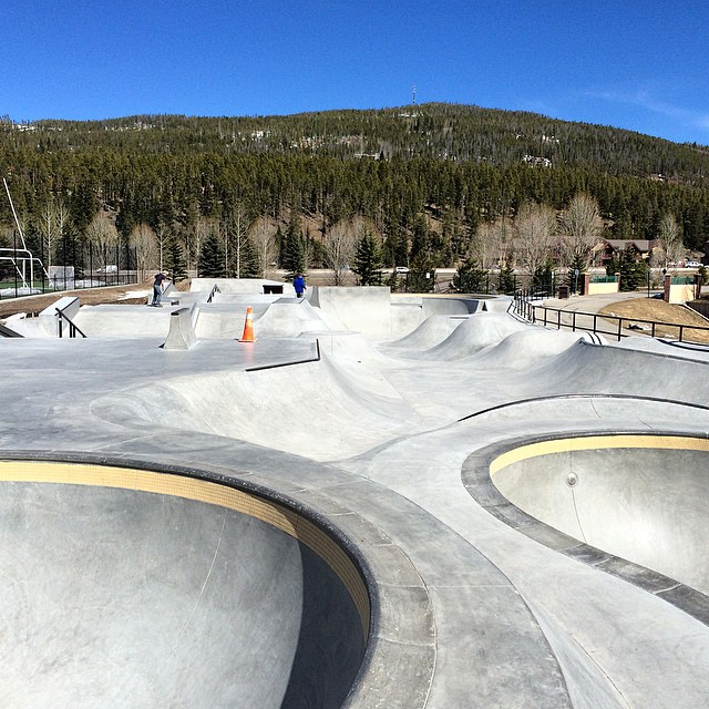 See you in Breckenridge tomorrow from 10am-2pm for the Grand Opening party! #coloradoskateboards  @teampainskateparks
