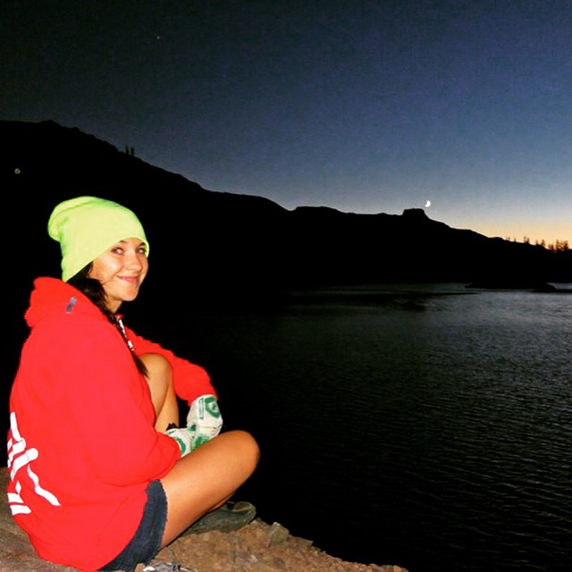 #Moonlight at my favorite camp spot. This pic was take by @joshdaiek a couple years ago on probably one of my most memorable camp trips yet. #Love #lostlakes #explore #wildandfree #biketahoe @neversummerindustries @oakleywomen @stcrossfit @epicbar...