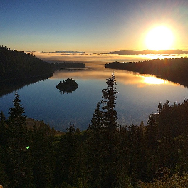 Happy Saturday! Get outside and do something fun. #emeraldbay #laketahoe #riseinspired #natureinspired