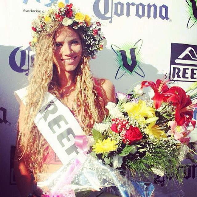 Les presentamos a la nueva Miss Reef :) ♥ ☼ ♀ #beauty #ReefArgentina