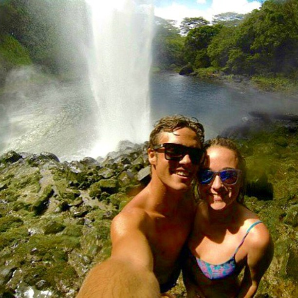 What are you up to this weekend?! @bywho is hitting up some waterfalls for adventure.