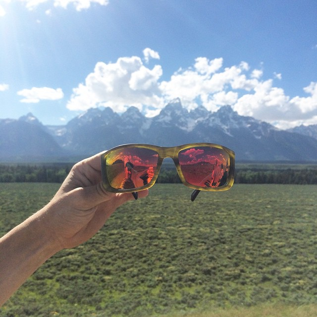 Hello from the Grand Tetons ft. The Teton, one of our new 8 Base Performance Wraps // Check them all out online or in the Father's Day Sale at iwantproof.com