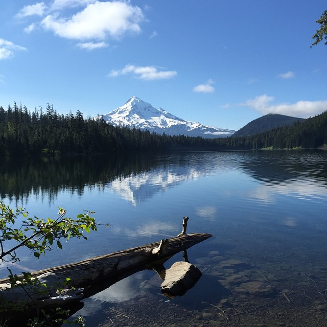 #Camping at #LostLake for the weekend. Views like this never get old. #PNW #MtHood