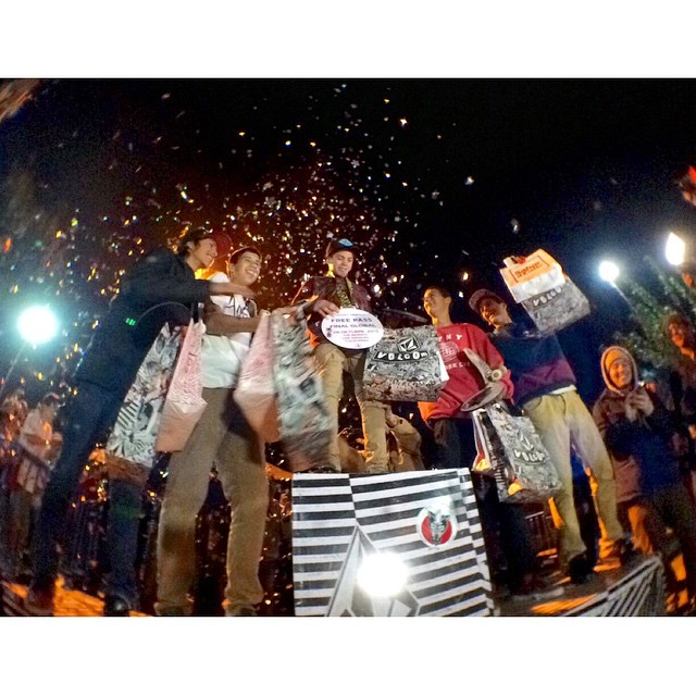Cierre de una gran fiesta #volcomWITP felicitaciones a todos los conpetidores #letthekidsridefree #volcomargentina #cordoba #sabor