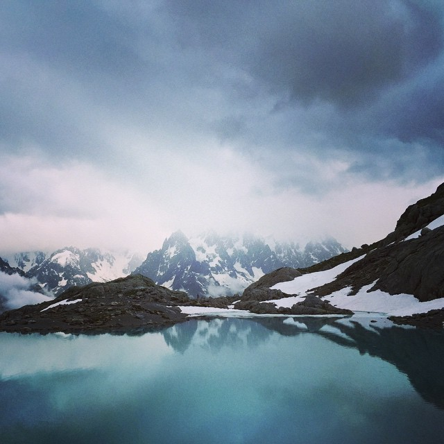 Beautiful Lac Blanc - Chamonix. #arcteryxacademy #peakdesign