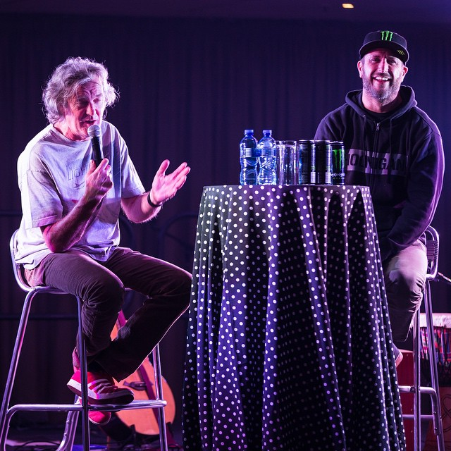 Did a fun Q+A/chat with my buddy James May last night at a VIP banquet after finishing day two of @ClarkHamMayLive shows. We talked about everything from our first cars we owned, to that time I took him off a jump in an airfield for an episode of Top...