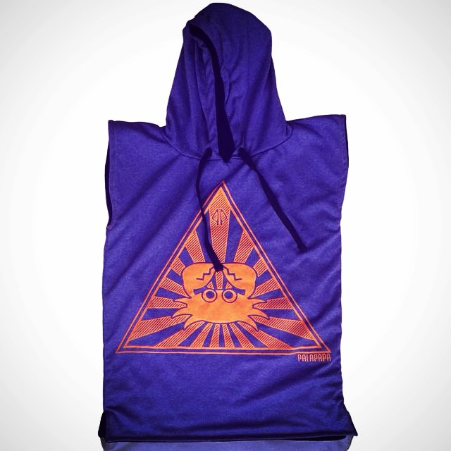 PALAPAPA || VIOLETA Y NARANJA #surf #wakeboard #kitesurf #sup #wear #clothing #color #towel #hydrowick #sport #riders #perfect #style #cool #like #changer #palapapa