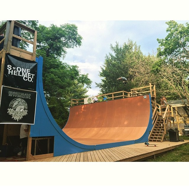 Regram from @vertskateboarding - final preparations for #mikeapalooza happening his Saturday . #beauty #backyardramp