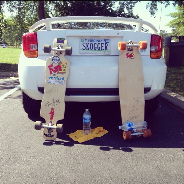 The #crew out in #Virginia repping the #skog super hard. #skogger #skogging #funboxdistribution #longboarding #longboard #skatedaily #longboardlife #thankyouskateboarding #lovewhatyoudo #skateboarding