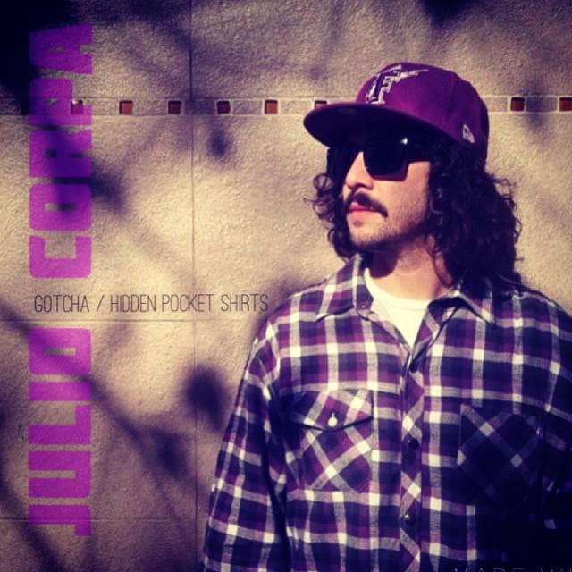 #gotcha shirts con bolsillo oculto.  Julio Corpa Bmxr.