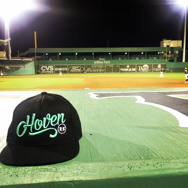 Coming at you from Fenway South (Fort Meyers)  #hovenvision #teamhoven #pgnational #livingthedream