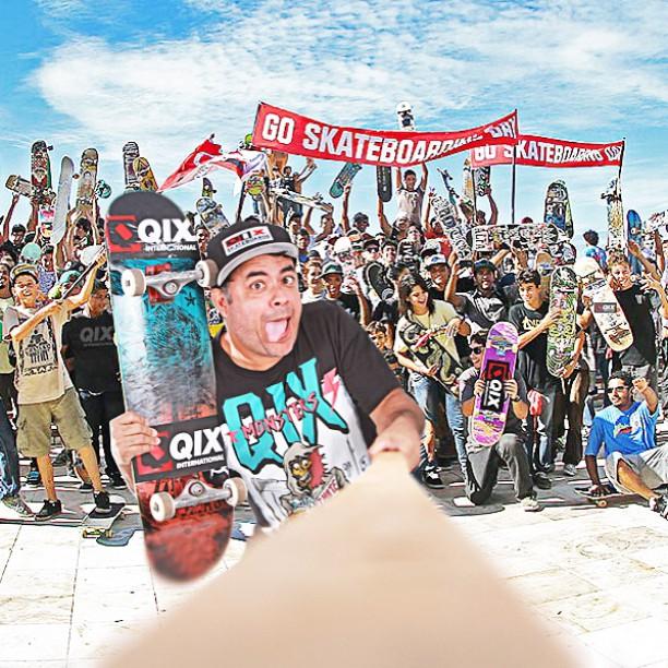 No dia 21 de junho skatistas de todo o mundo comemoram o #DiaMundialdoSkate. E para celebrar esta data mostre o quanto você curte a QIX! Faça uma foto no Dia Mundial do Skate 2015 usando os produtos da QIX e publique marcando #eudeqix. A foto mais...