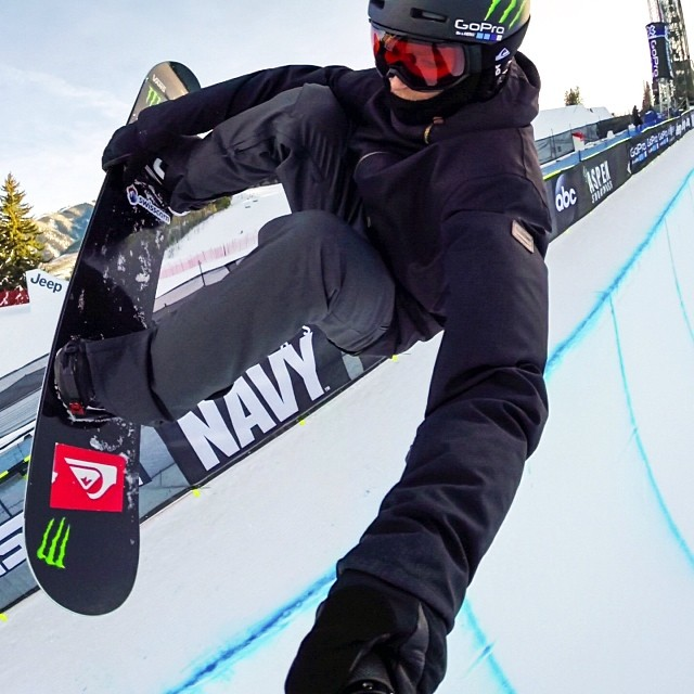 @iouripodladtchikov sorting out his run for tonight's SuperPipe final! #GoPro