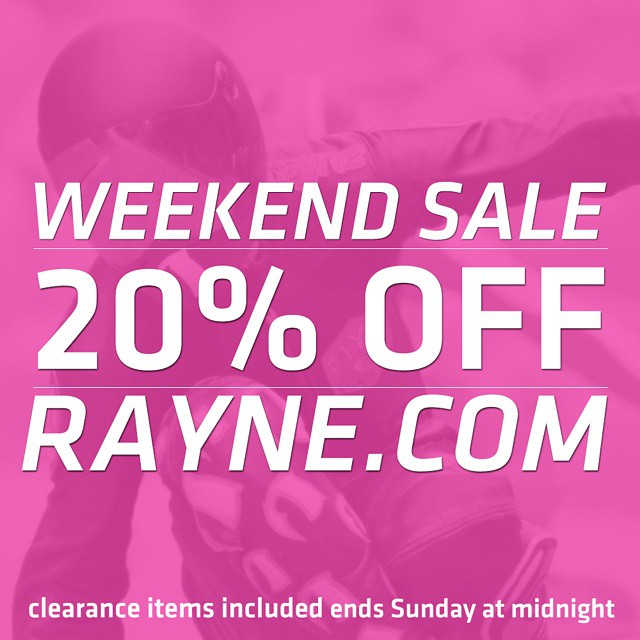Its Friday! If you're not skating get to shopping! We are running a #sale on our new site at www.rayne.com 20% off the whole store #thisweekendonly  #wemakerayne