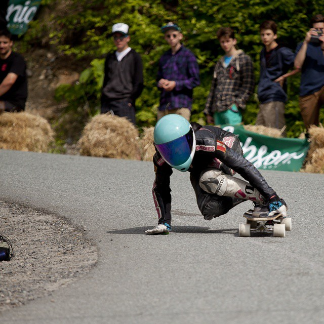 @cocomarii (Marisa Nunez) killed is all weekend maintaining a consistent lead in women's class to take first at the @britanniadh #britanniaclassic here she is nailing the apex in her final heat. #wemakerayne