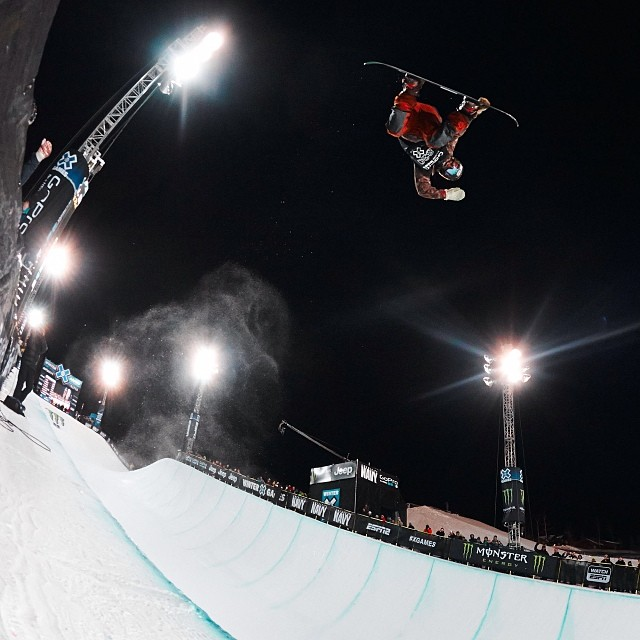 Danny Davis ( @travelindan ) for the win to close out #XGames Aspen!  What an epic four days.  Photo: @htkhlmn