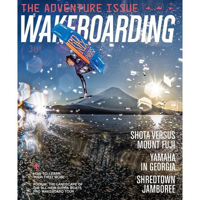 Our boys have been doing work! Congrats @shotatezuka on your new @wakeboardingmag cover! #ronixlove #ronix2015 #ridecamber #parkscamber #fortifiedwithlakevibes #boombabe