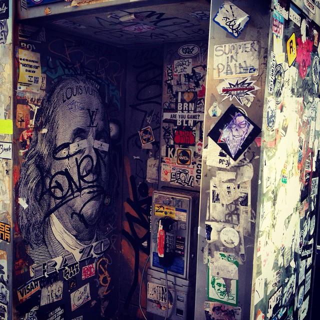#Brooklyn #urbanart #trashcolors Spiral brand Community