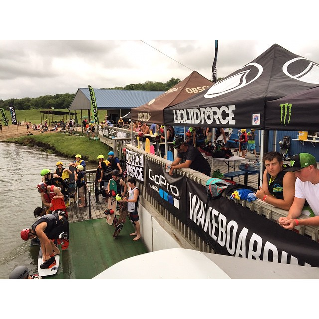 @kcwatersports #FreeForAll going down till 5pm!  Come on out to ride free, try the '15 lineup, and hang with @ronreeds @sophiehogben @chandlerpowell @raphderome!