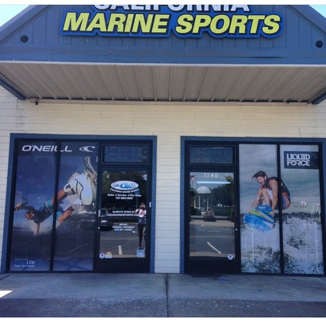 New @dominiclagace window just installed at @calmarinesports!  Head on over and check it out!  #DoumPro #GoPro