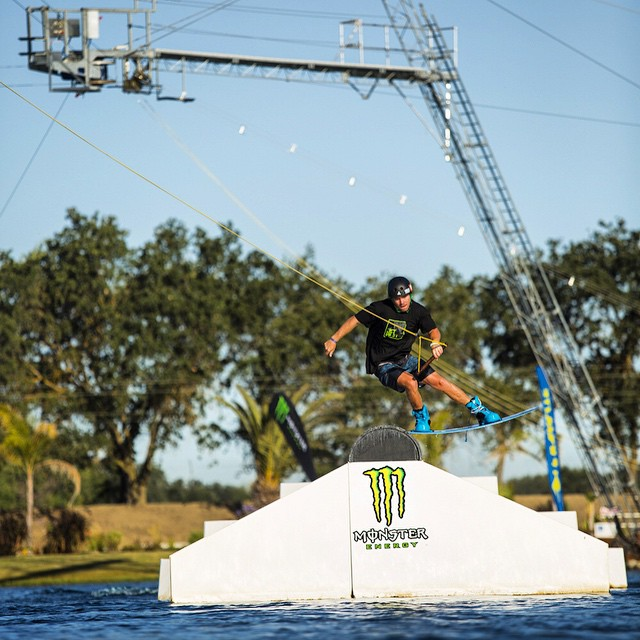 @aarongunn out here at @velocityislandpark for the 2nd stop of the Monster Energy Triple Crown #mewptc @monsterenergy