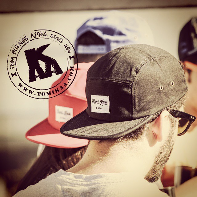 Onda #tomikaa for all!  Tkaa&Cie. Series available @ www.tomikaa.com  Photo credits and special thanks @maria.armella  @tangoandtango for production work #snapback #5panellova #5panel #streetwear #buenosaires #sudamerica #business