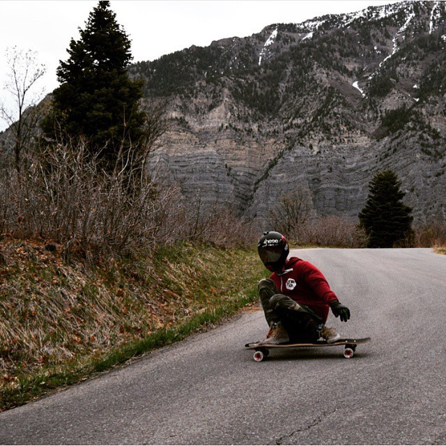 Our homie @fishburn801 has been getting sideways the the hills of #SLC now that the snows gone.