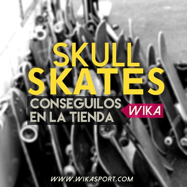 Skull skates! Lo mejor para empezar a #andarxandar, encontrá todos los modelos en www.wikasport.com  #skate #skateboarding  #Longboard #longboarding #longboards #longboarder #longboardlife #longboarders #longboard4life #longboardlove...