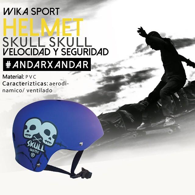 La seguridad es lo primero! Encontra tu casco en www.wikasport.com  #andarxandar  #WikaSport