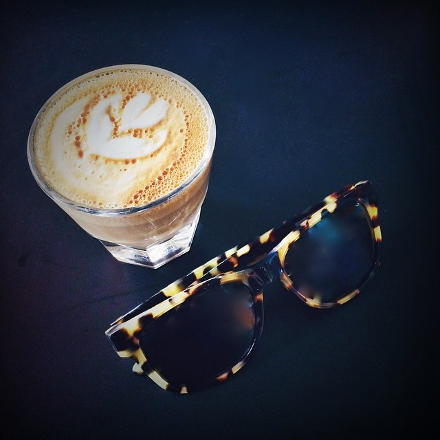 \\ Monday do your Worst // #hovenvision #teamhoven #catchinabuzz #sandiego #sunglasses #caffeine #coffee #monday #bigrisky #wayfarer